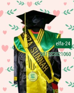 24 Baju toga wisuda anak di Palembang