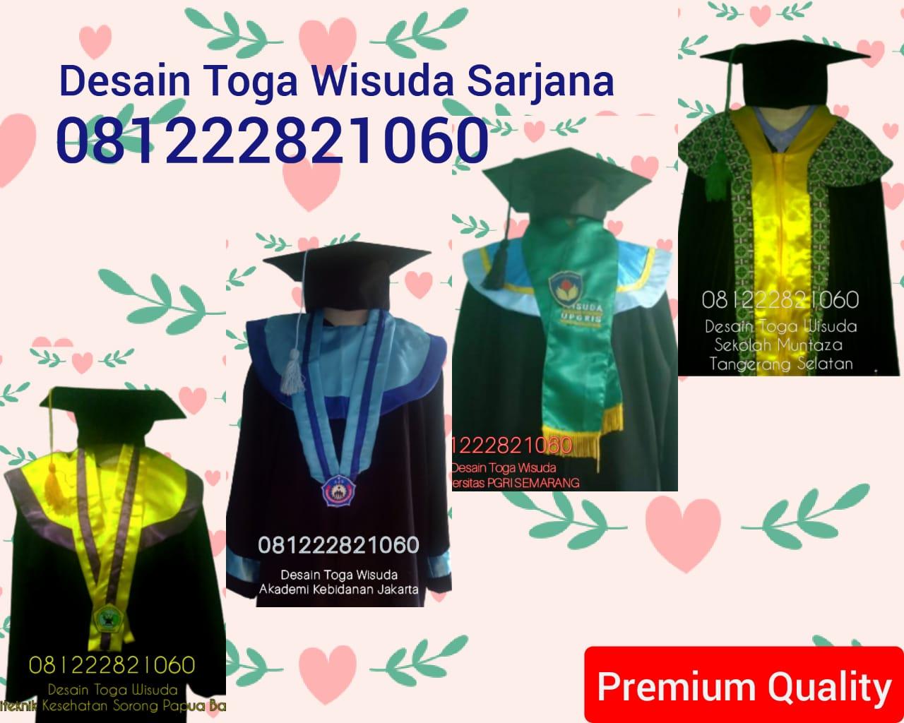 Model Baju TOga Wisuda sarjana di Banjarmasin