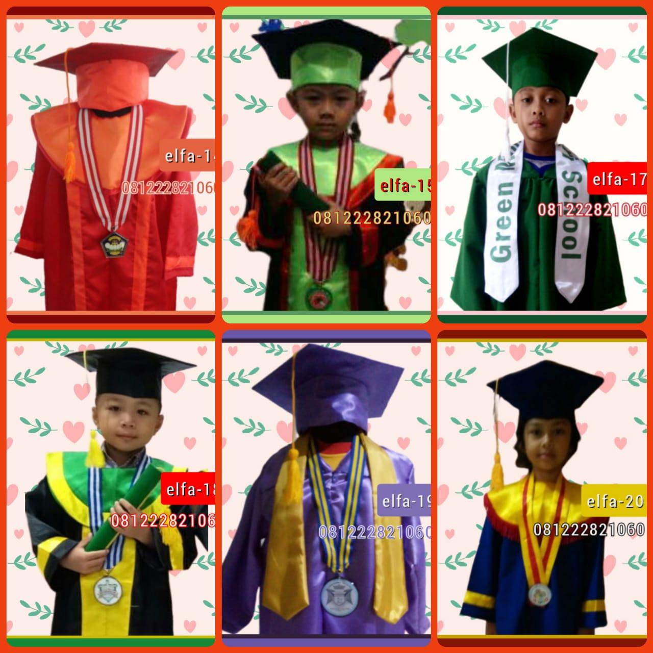 gambar baju seragam sekolah tk murah Cisoka Kab. Tangerang