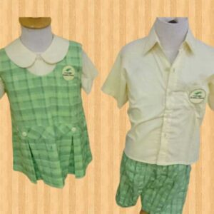 sketsa gambar seragam sekolah tk Tangerang Banten