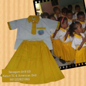 Bikin Seragam Sekolah TK Bobonaro Timor Leste