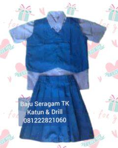 ukuran seragam sekolah tk Taktakan Kota Serang, Banten