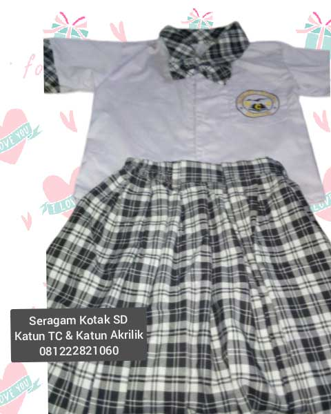 seragam sekolah tk islam murah Karawaci Jakarta Barat