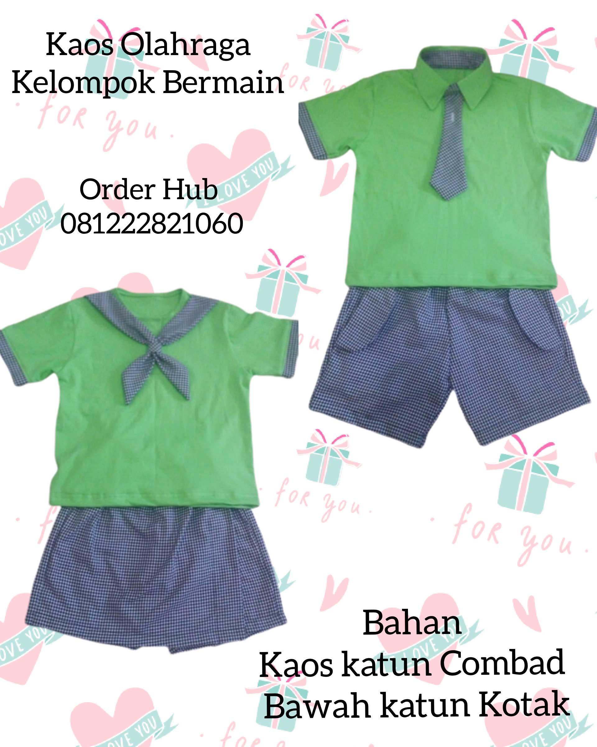 seragam sekolah tk islam murah di Karawaci Jakarta Barat