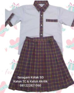 seragam sekolah tk muslim murah Tambora Jakarta Barat