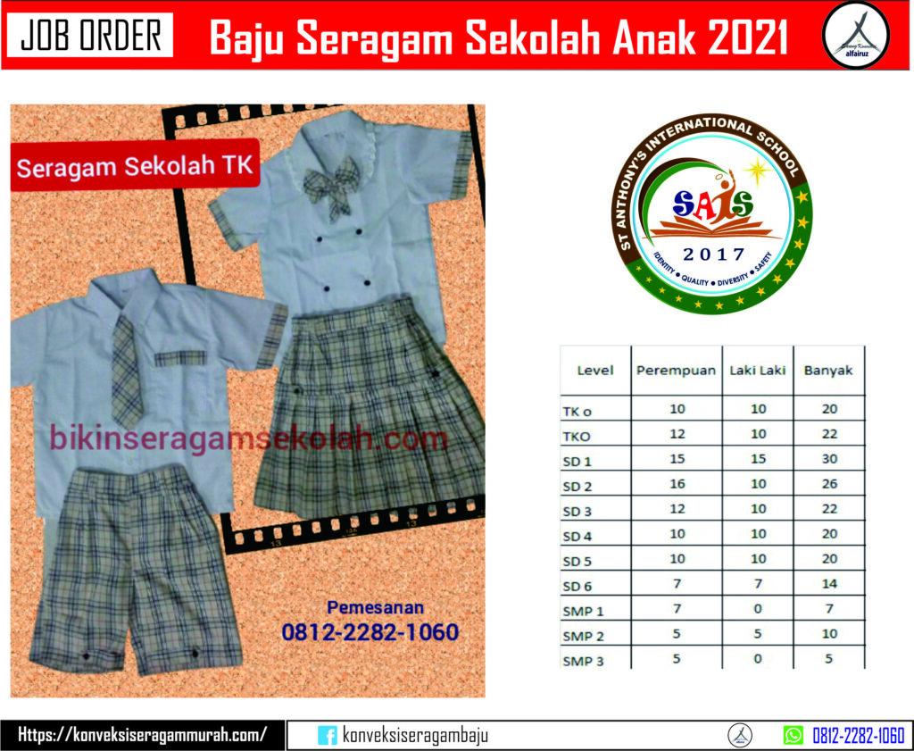 Bikin baju seragam sekolah tk Murah di di walantaka Kota Serang, Banten