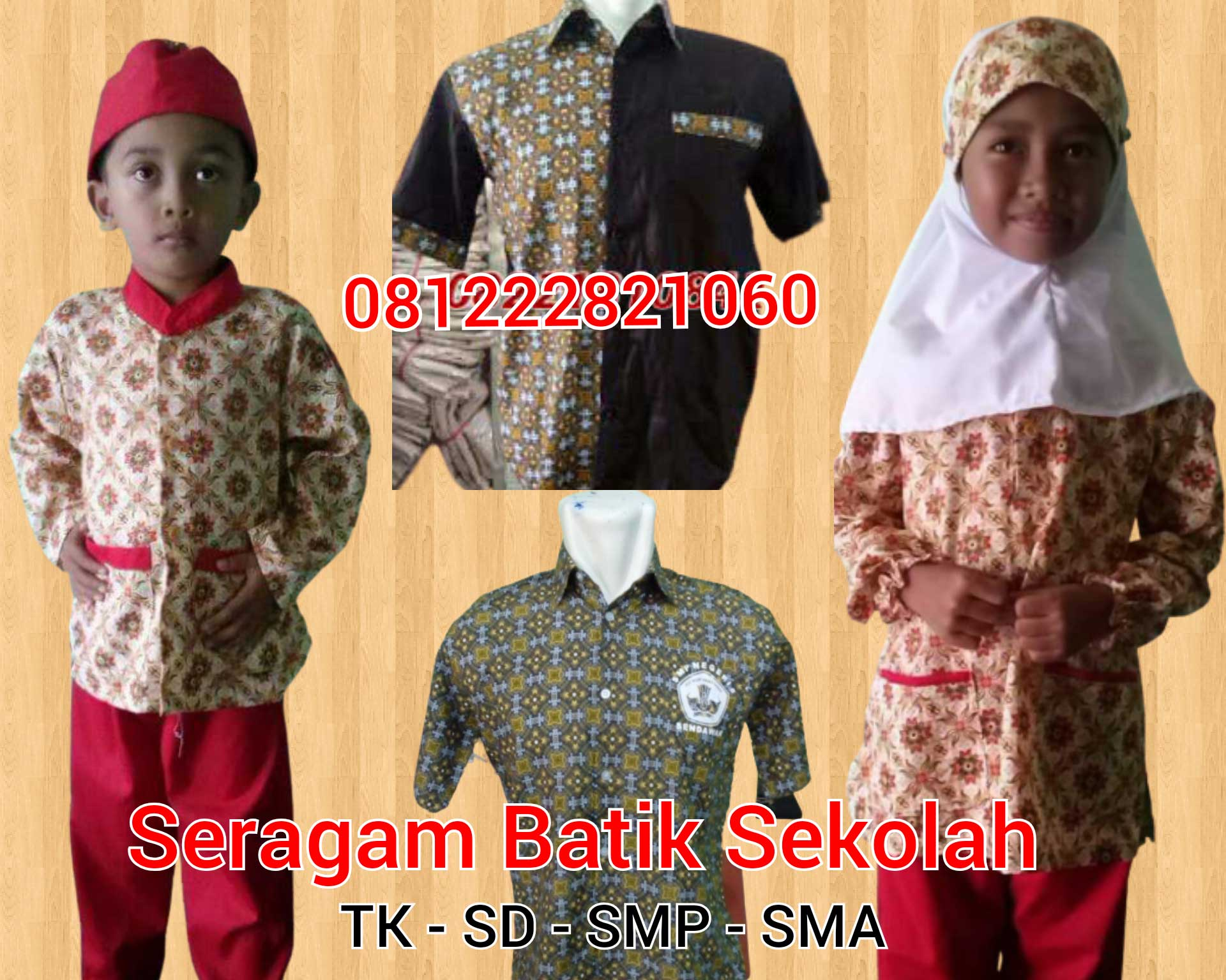 model baju seragam sekolah tk Curug Kota Serang, Banten