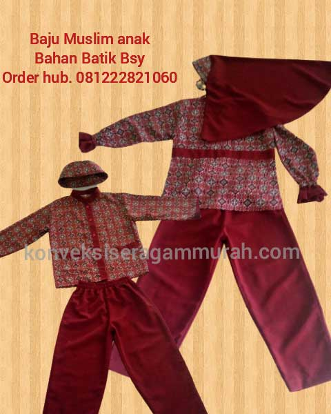 gambar baju seragam sekolah anak tk di Cisauk Kab. Tangerang