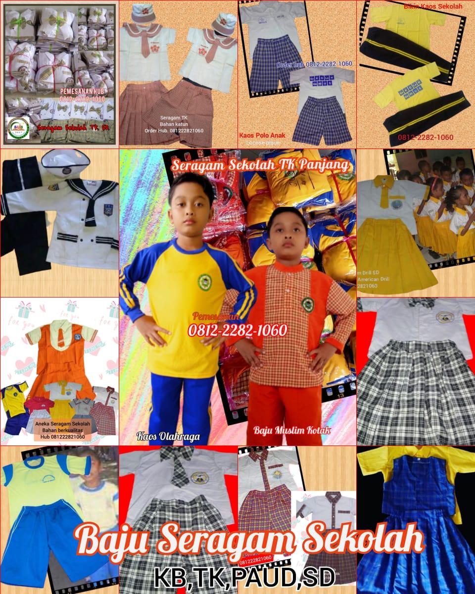 jasa pembuatan baju seragam sekolah murah di Kabupaten Sarolangun