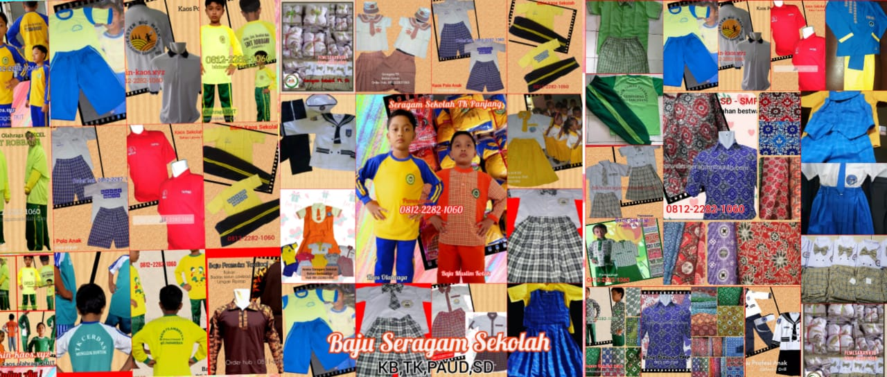 konveksi seragam sekolah termurah di Kabupaten Sarolangun
