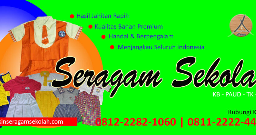konveksi seragam sekolah anak murah di Kabupaten Sarolangun