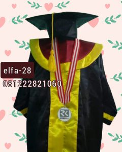 28 contoh baju toga wisuda anak TK di Jakarta