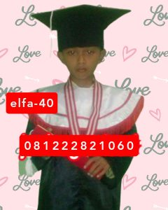 40 contoh baju toga wisuda anak SD di cinere Depok