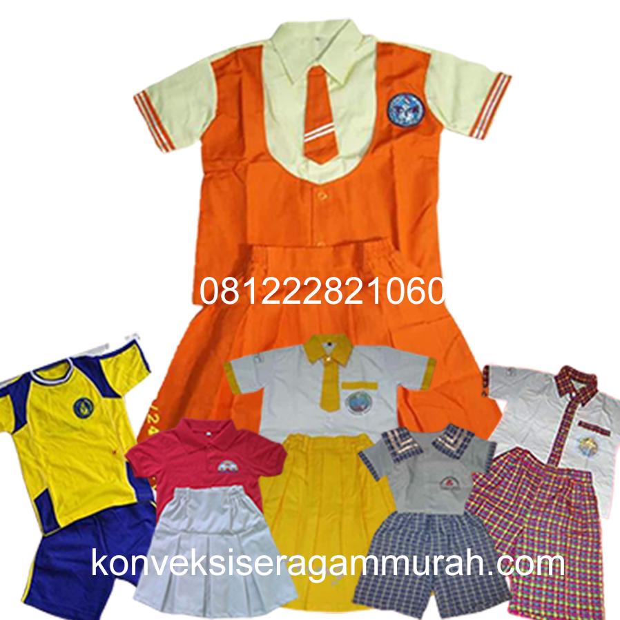 seragam sekolah TK Jakarta dan Tangerang