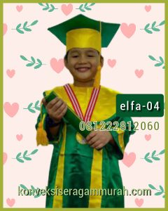 04 contoh baju toga wisuda anak di malaysia
