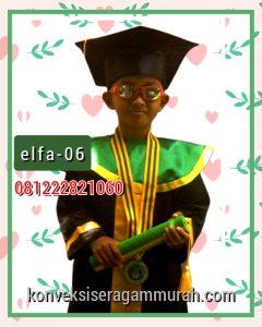 06 gambar toga wisuda anak SDIT di Manado