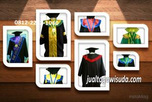 jenis bahan toga wisuda sarjana