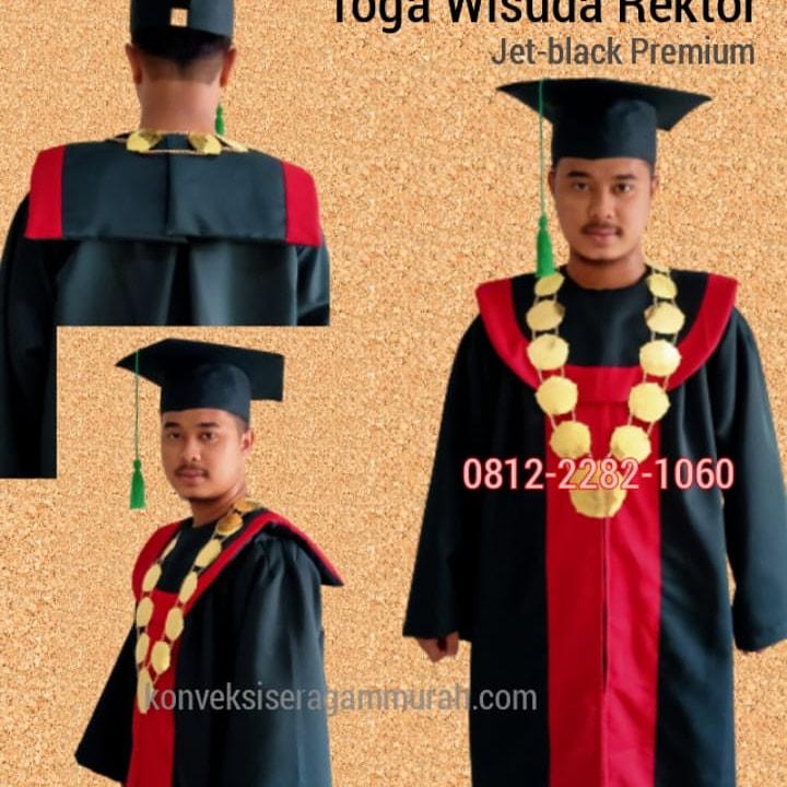 jual toga rektor dan guru besar lengkap dengan medali senat di Tangerang