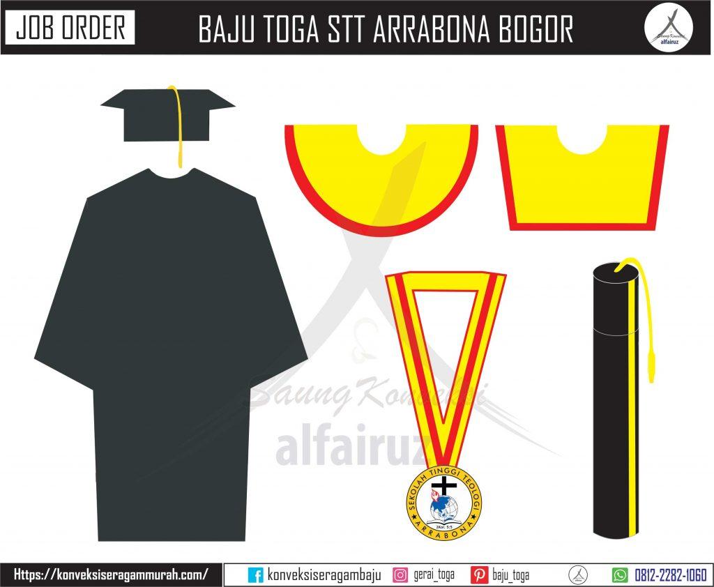 pesan baju toga wisuda perguruan tinggi sarjana