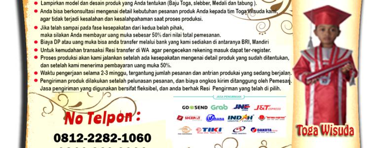 Harga Toga Wisuda Anak Kota Padang Sidempuan Termurah