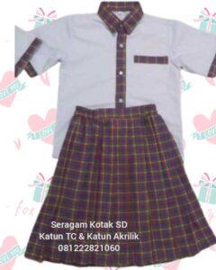 seragam sekolah tk muslim murah Tangerang Jakarta Barat