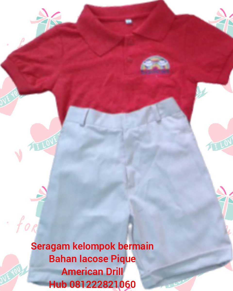 Bikin baju seragam sekolah tk Murah di Sukamulya Kab. Tangerang