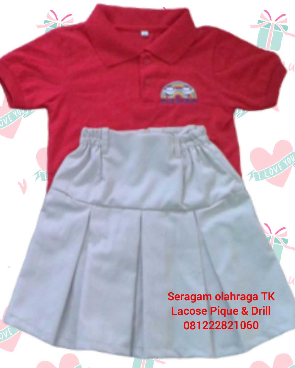 seragam batik sekolah tk murah di Cipondoh Jakarta Barat