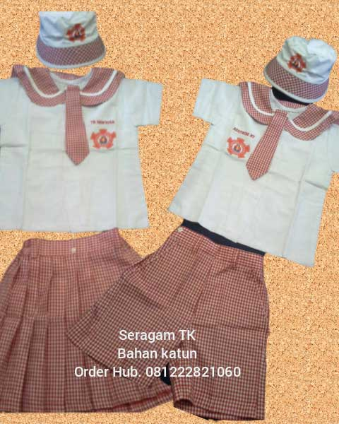 Promo harga seragam sekolah tk Taman Sari Jakarta Barat